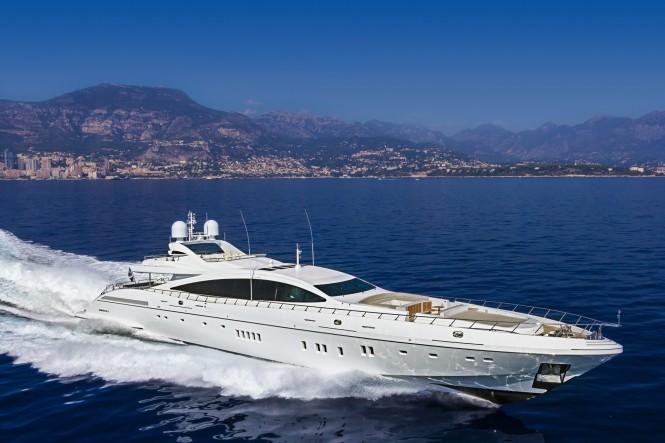 Superyacht Mangusta 165 by Overmarine Group