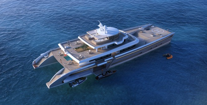 Superyacht Manifesto concept from above