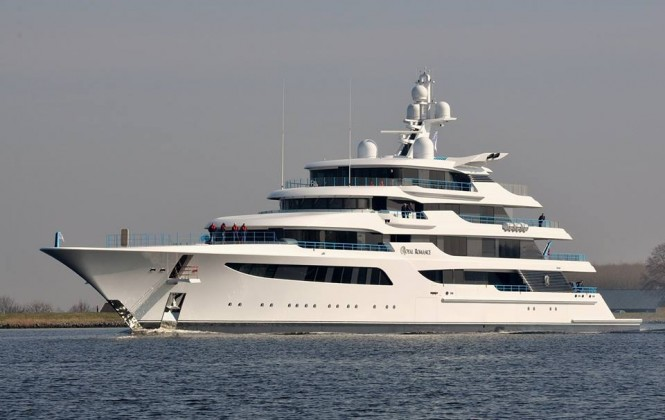 Superyacht Royal Romance - Photo by Marcel & Ruud Coster Feadship FanClub