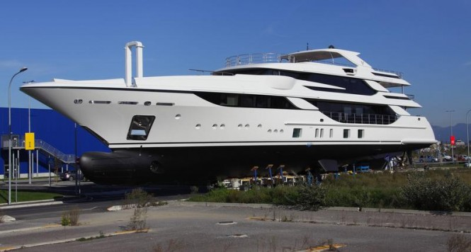 Vica superyacht at launch