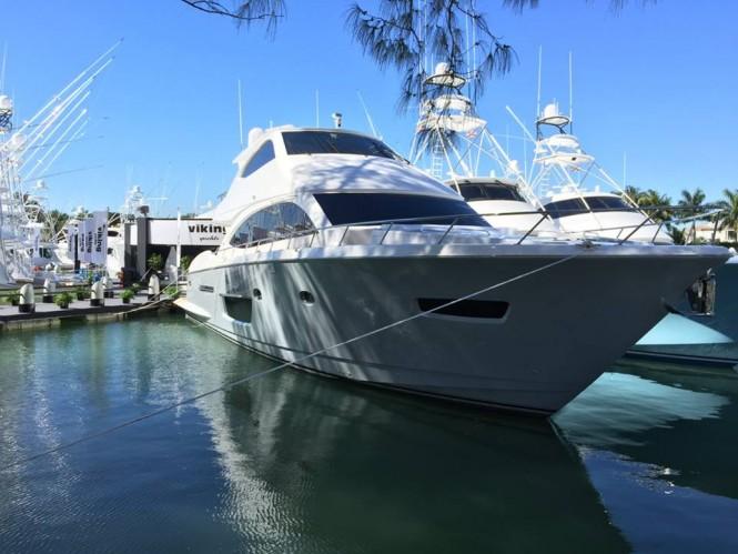 Viking Yachts at the 2015 Miami Yacht & Brokerage Show