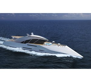 Superb 116m Mega Yacht AJAX concept by Sigmund Yacht Design