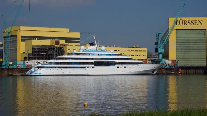 125m GOLDEN ODYSSEY superyacht - Image credit DrDuu