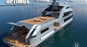 43m explorer yacht Optimus design by HYS Yachts