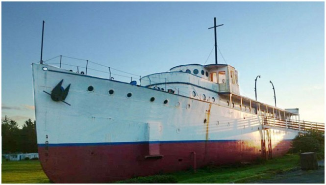 48m classic yacht Caritas discovered by G.L. Watson
