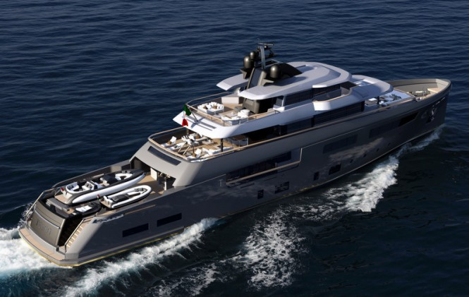 50m expedition yacht TESEO by CRN and Zuccon International Project