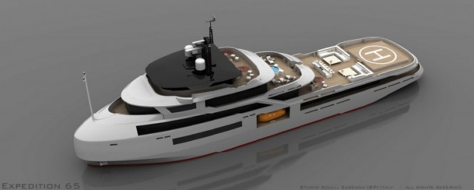 65m luxury yacht MSS EXPEDITION65 design