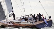 A sister ship to new Contest 72CS yacht - luxury yacht PH3 under sail