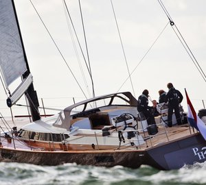 Brand new sailing yacht Contest 72CS launched