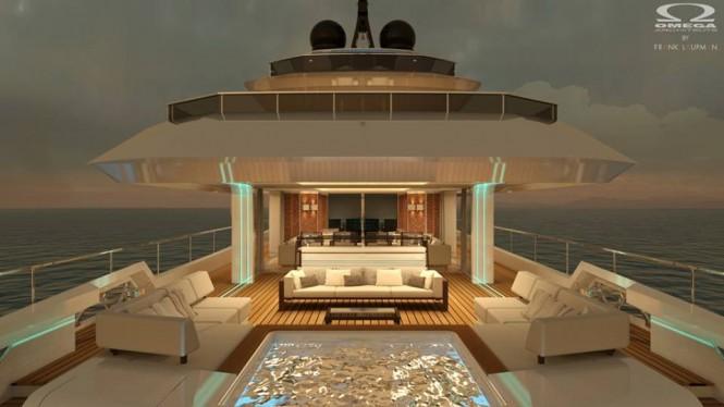 Aboard super yacht Yara 48 concept