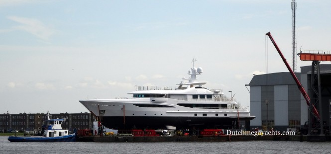 Amels Hull 468 Yacht just launched