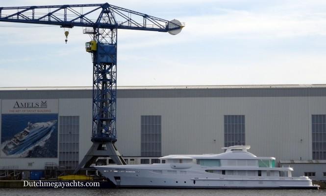 Amels super yacht Hull 470 - Photo by Dutchmegayachts