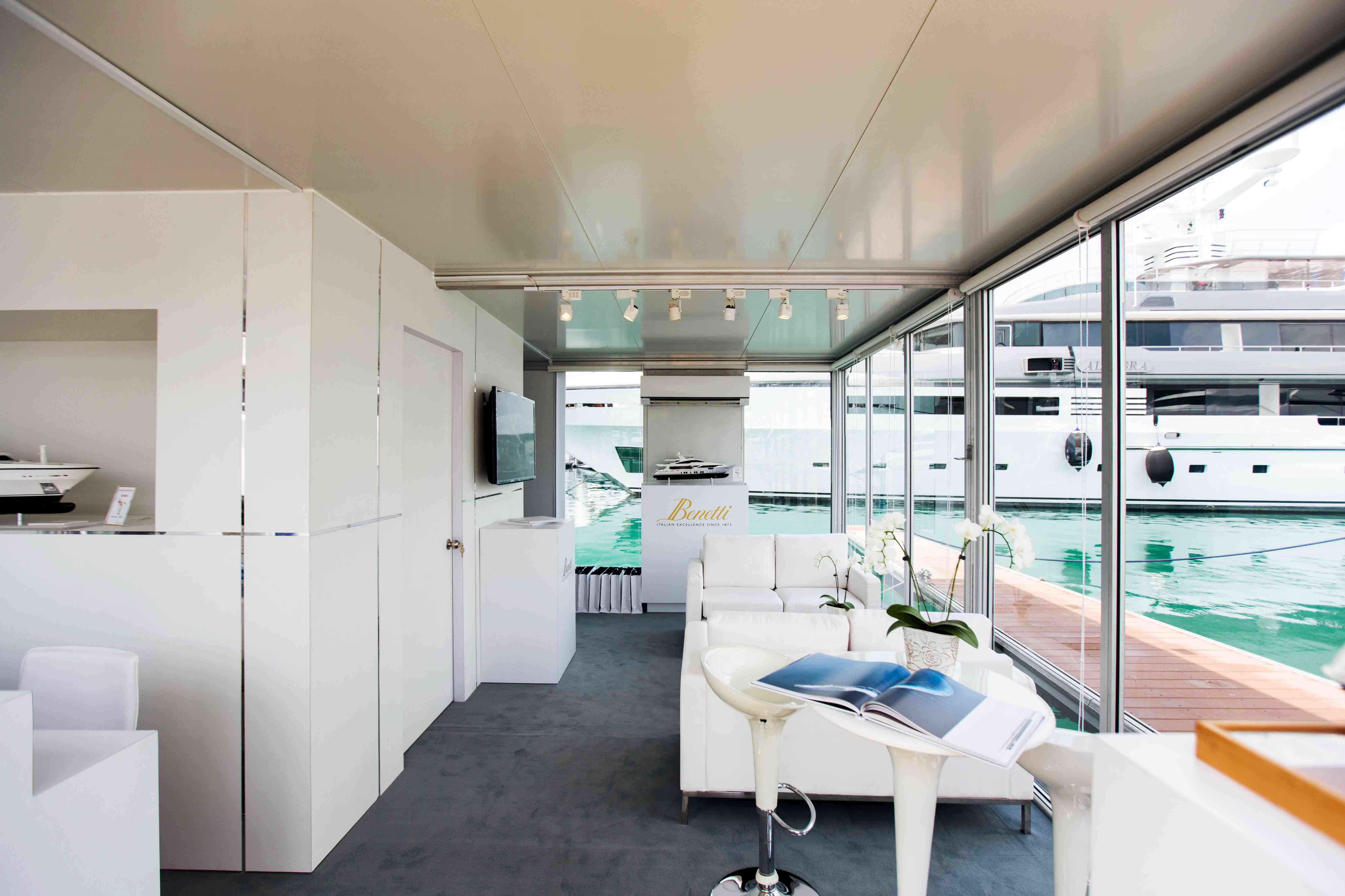 Luxury superyacht keyla interior by hot lab luxury yacht charter - Benetti S Stand At The 2015 Singapore Yacht Show