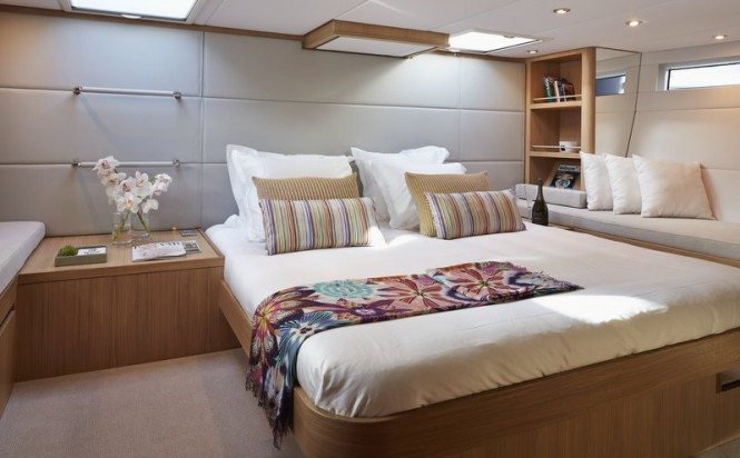 Contest 72CS Yacht - Owners Suite