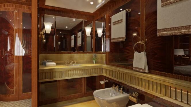 GAZZELLA Yacht - VIP Bathroom