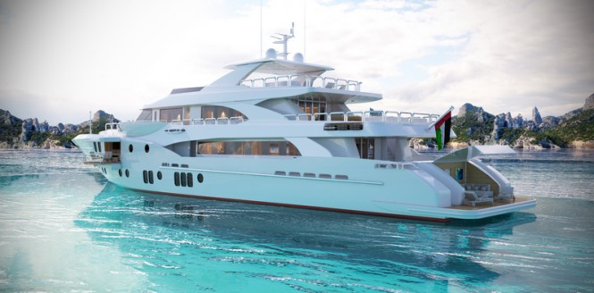 Gulf Craft superyacht Majesty 155