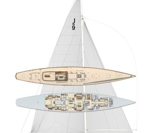 Majestic J Class Sailing Yacht J9 Ready to Build at Holland Jachtbouw