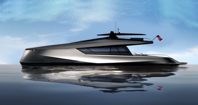 JFA 115 Power Catamaran Concept