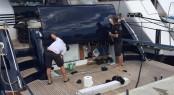 LIVE Vinyl Film Application aboard luxury yacht NAOMI S