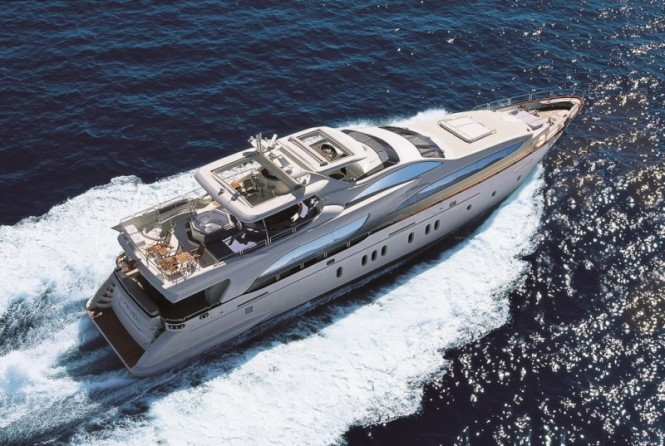 Luxury charter yacht GRANDE built by Azimut Yachts