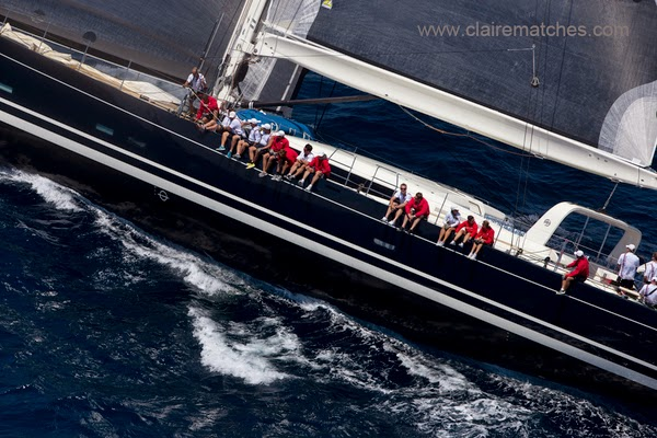 Luxury charter yacht P2 at The Superyacht Cup Palma 2013