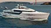 Luxury motor yacht FLOW concept by Vripack