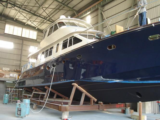 Luxury motor yacht Hunt 80 - Photo by Hunt Yachts