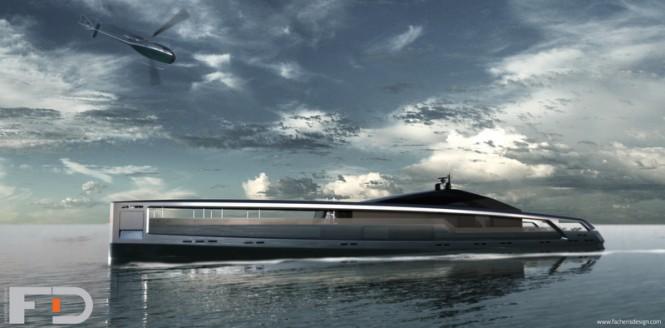 Luxury motor yacht Maximus concept