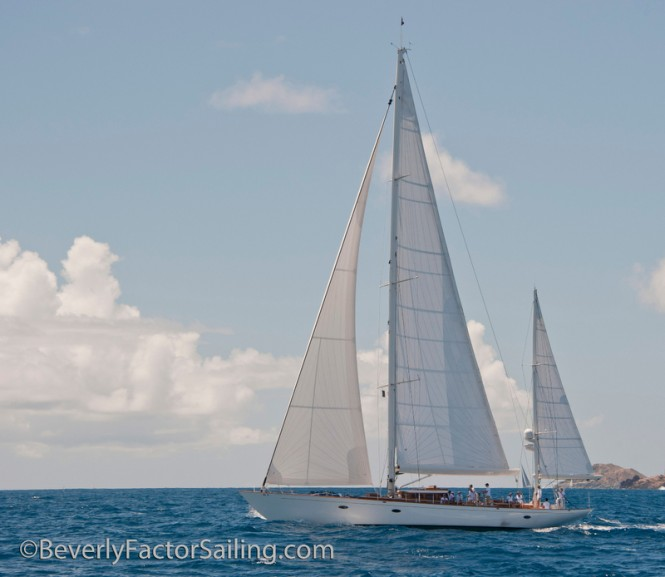 Luxury sailing yacht Bequia