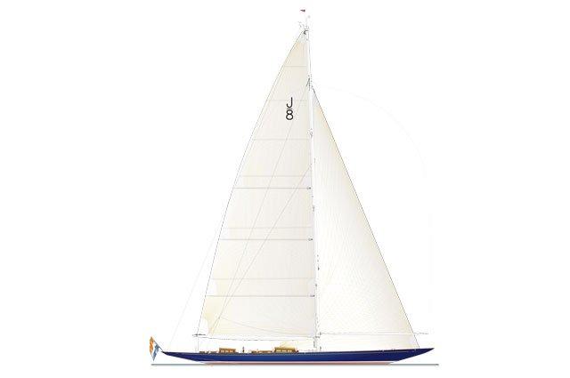 Luxury sailing yacht J8 by Holland Jachtbouw