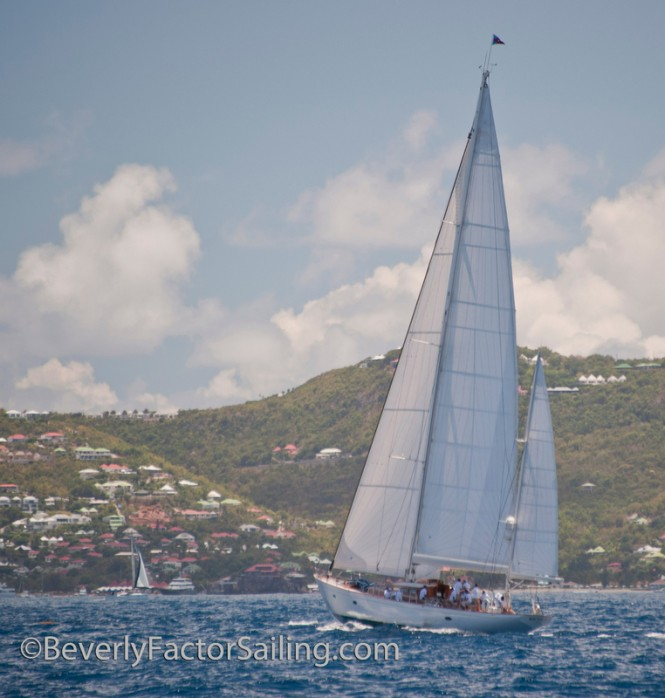 Luxury yacht Bequia