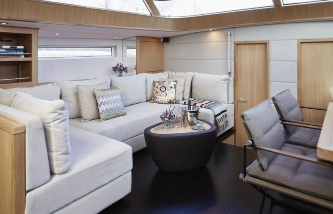 Luxury yacht Contest 72CS - Saloon