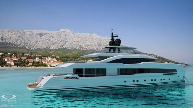 Luxury yacht Yara 48 concept