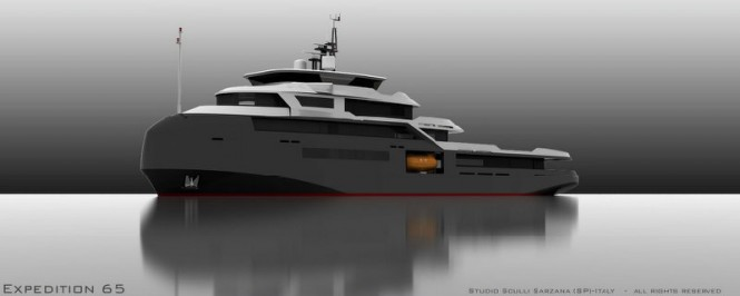 MSS EXPEDITION65 superyacht design