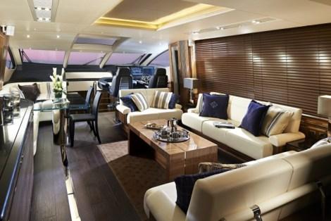Main Saloon - Sunseeker 80 Sport Yacht