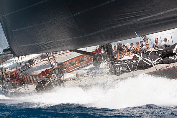 Marie last participated in the Superyacht Cup Palma in 2011, here she is racing in the Caribbean last year. Image credit to clairematches.com