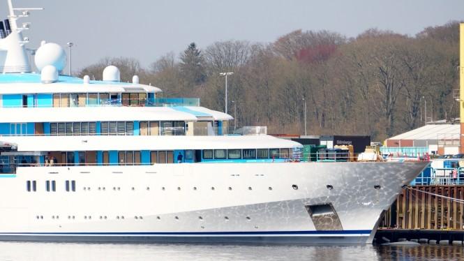 Mega yacht Golden Odyssey - Project Tatiana yacht - Image credit DrDuu