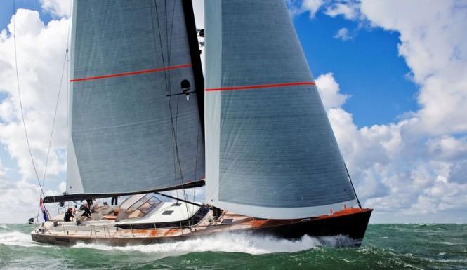 Mini-superyacht Contest 72CS by Contest Yachts under sail