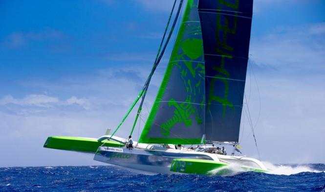 Mod 70 yacht Phaedo 3 © Jouany Christophe