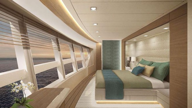 New 28m motor yacht Mulder 2800 RPH – Full Beam concept