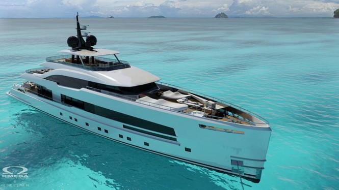 New 48m superyacht Yara 48 by ISA Yachts
