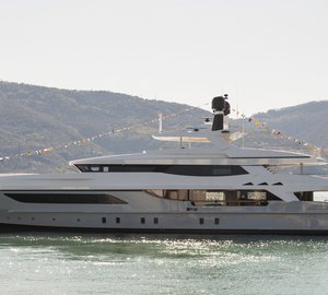New Baglietto 46m displacement motor yacht Hull #217 launched