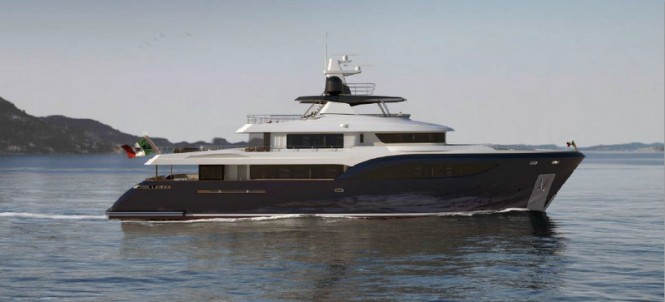 New Mondomarine superyacht 40M Explorer