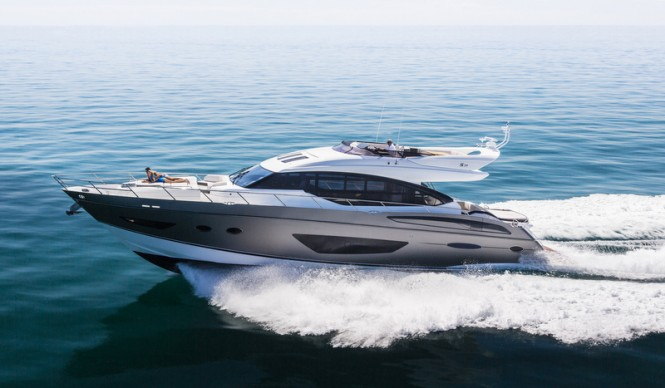 Princess S72 Yacht by Princess Yachts