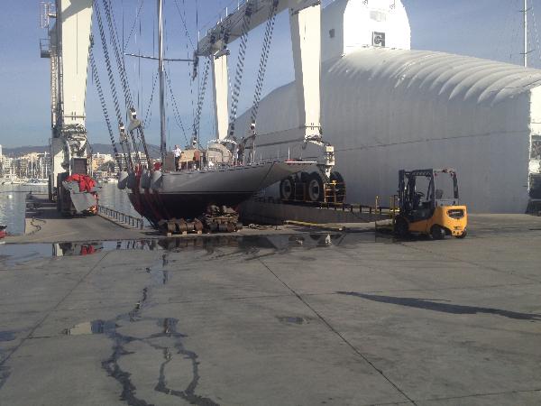 Re-launch of J Class Yacht Ranger