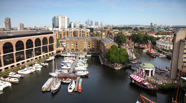 St Katharine Docks - Photo credit copyright to CJesper Mattias