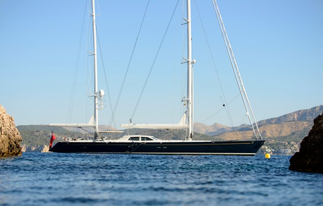 Superyacht Antares - Photo by Waterline Media