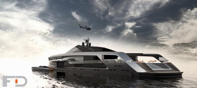 Superyacht Maximus concept