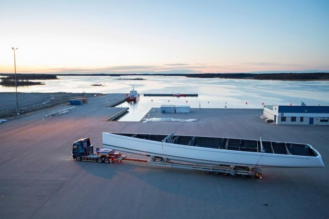 Swan 115 superyacht - Photo by Karolina Isaksson, Bildbolaget Du & Vi.