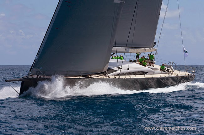 Win Win competing at the St Barth´s Bucket 2015 - Image credit to clairematches.com